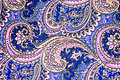 Texture Fabric Of Retro Flower And Paisley Stock Photography - 59937782