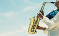 Saxophonist Royalty Free Stock Photography - 59962197