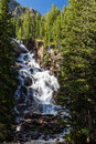 Hidden Falls At Grand Teton National Park, Wyoming, USA Stock Photo - 59964770