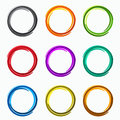 Color Abstract Circles. Loops  Logo Elements Of Template Stock Photography - 59967762