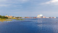Distant View Of The Ancient Castle And The Harbor Stock Images - 59971024