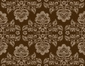 Vector Seamless Vintage Floral Pattern Stock Image - 59984941
