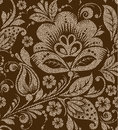 Vector Seamless Vintage Floral Pattern Stock Photo - 59984950