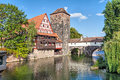 Half-timbered House And Henkerturm Tower Royalty Free Stock Photography - 60010177