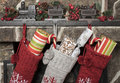 Christmas Stockings Stock Images - 60014514