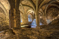 Dungeon Of Chillon Castle, Switzerland Royalty Free Stock Photography - 60016957