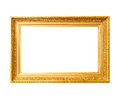 Wood Gold Frame Stock Images - 60020244