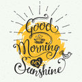 Good Morning My Sunshine Royalty Free Stock Images - 60024509