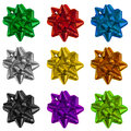 Gift Wrapping Bows Royalty Free Stock Image - 60029246
