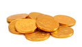 Chocolate Gold Coins Stock Images - 60080254