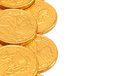 Chocolate Gold Coins Stock Images - 60080604
