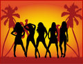 Party Girls Stock Image - 6016391
