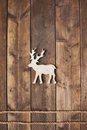 Reindeer And Two Ropes Royalty Free Stock Images - 60106049