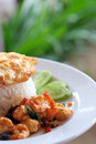 Thai, Food, Shrimp, Fried Royalty Free Stock Photography - 60132407