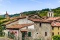 Roofs Of Hill Village In Italy Stock Photo - 60136170