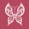 Lacy Abstract Butterfly Stock Photo - 60157550