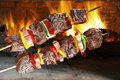 BBQ With Kebab Stock Photos - 60164683