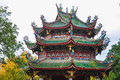 Closeup Of Chinese Temple Pagoda Royalty Free Stock Photo - 60166385
