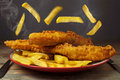 Fish And Chips Royalty Free Stock Image - 60166936