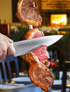 Picanha Served On A Restaurant Stock Photo - 60174710
