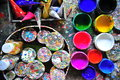 Paint Buckets Stock Images - 60182624
