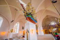 Saint Nicolai Medieval Church In Simrishamn Royalty Free Stock Photography - 60187087