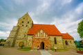 Saint Nicolai Medieval Church In Simrishamn Stock Photo - 60187690