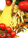 Pasta And Ingredients Royalty Free Stock Photo - 6027805