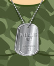 Day Veteran. Army Badge On His Chest From Soldier. Military T-sh Royalty Free Stock Photography - 60201807
