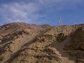 Brown  Mountains And Sky Royalty Free Stock Photo - 60205205