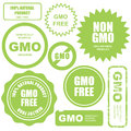 GMO Free Stamps, Stickers And Labels Royalty Free Stock Images - 60206379