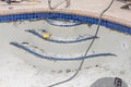 New Pool Tile Border And Steps Royalty Free Stock Image - 60221736