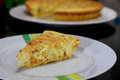 Almond Cheese Tart Stock Photos - 60232733
