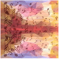 Vintage Music Notes Background Royalty Free Stock Photography - 60252637