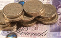Pound Coins Stock Images - 60285944