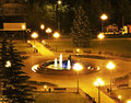 French Park In Maladzyechna. Belarus Royalty Free Stock Image - 60293116