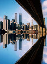 World Trade Center And Bridge Royalty Free Stock Images - 6031189