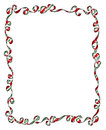 Frame Of Christmas Ribbons And Bows Stock Photos - 60311263