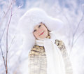 Boy In Winter Stock Images - 60317554