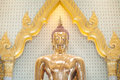 The Largest Solid Gold Buddha Statue In The World, Wat Traimit, Bangkok, Thailand Royalty Free Stock Photography - 60322207