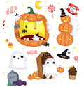 Halloween Vector Set Stock Image - 60322341