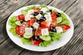 Greek Salad Royalty Free Stock Photo - 60348965
