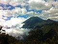 Volcano In Clouds Royalty Free Stock Images - 60349419