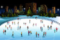 People Ice Skating Outdoor Royalty Free Stock Images - 60353269