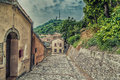 Alleys Of The Medieval Village Stock Images - 60356884