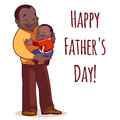 A Father Holding Son In His Arms. Royalty Free Stock Photos - 60365708