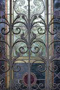 Metal Grating In Art Deco Style Stock Images - 60381614