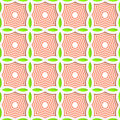 Colored 3D Green And Orange Striped Pointy Squares Royalty Free Stock Images - 60400219