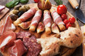 Prosciutto Di Parma And Other Italian Food Stock Photo - 60409440