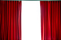 Red Curtains Royalty Free Stock Image - 60421626